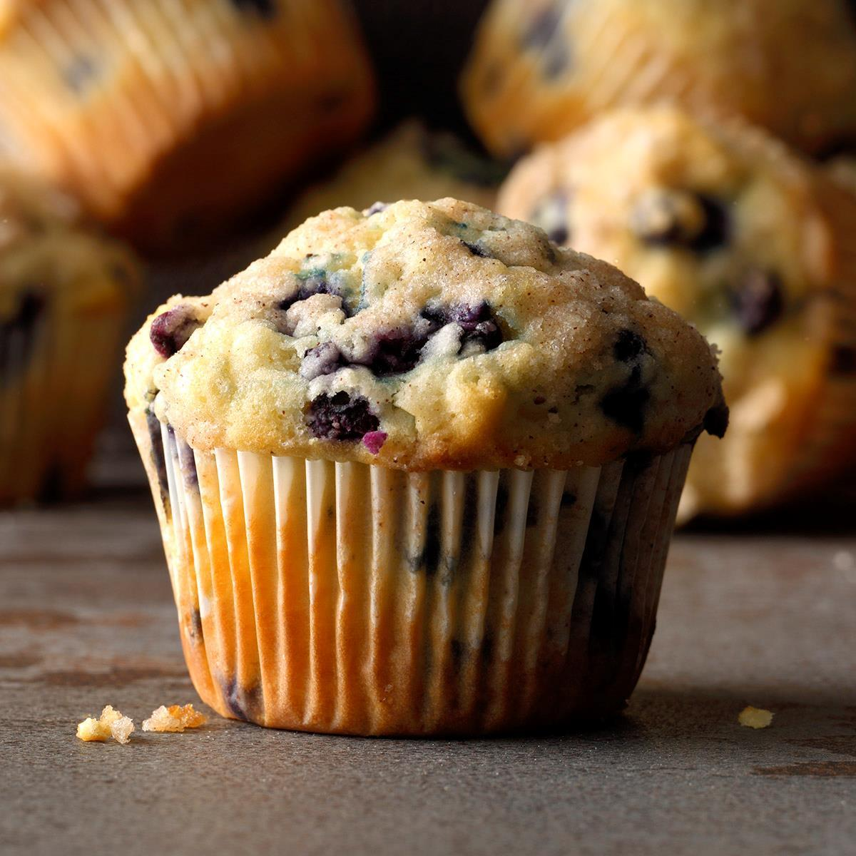 Wild Blueberry Muffins Recipe: How to Make It | Taste of Home