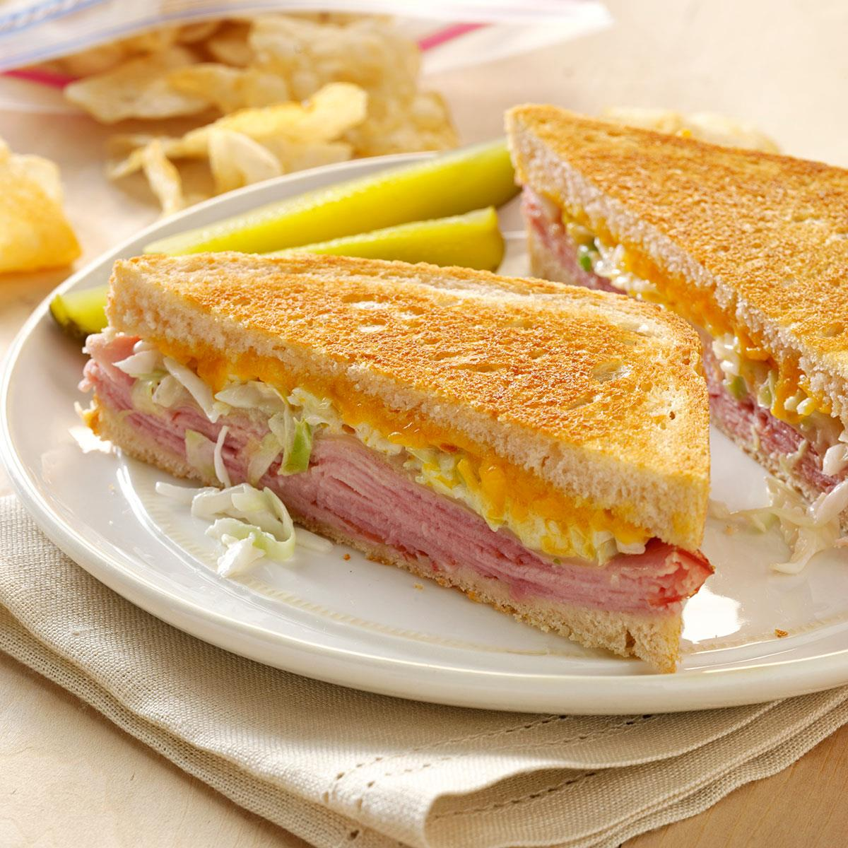 Zesty Grilled Sandwiches Recipe How To Make It Taste Of Home