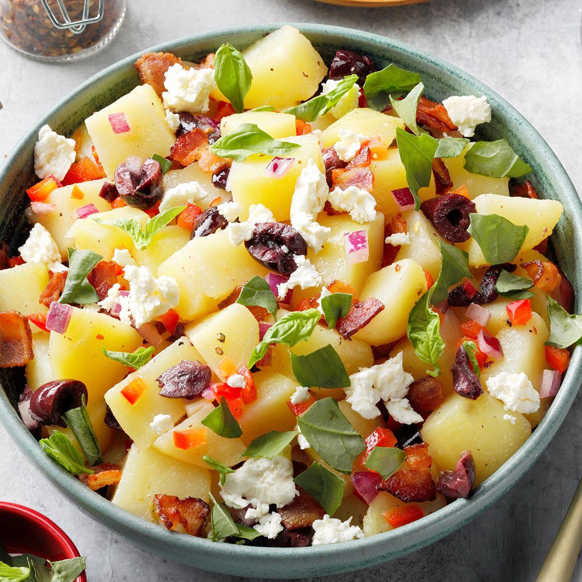 Zesty Potato Salad Recipe