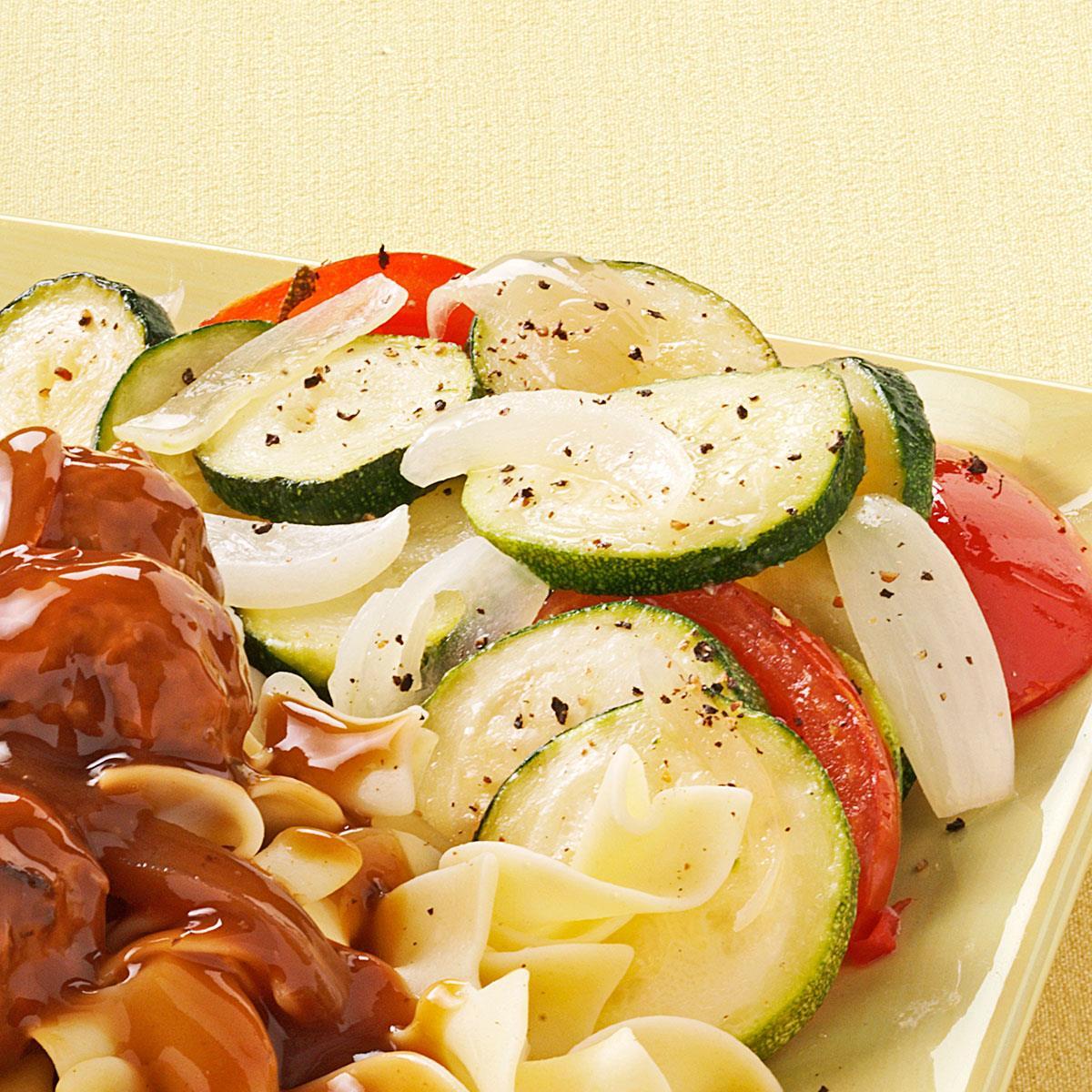 Zucchini and Tomato Saute image