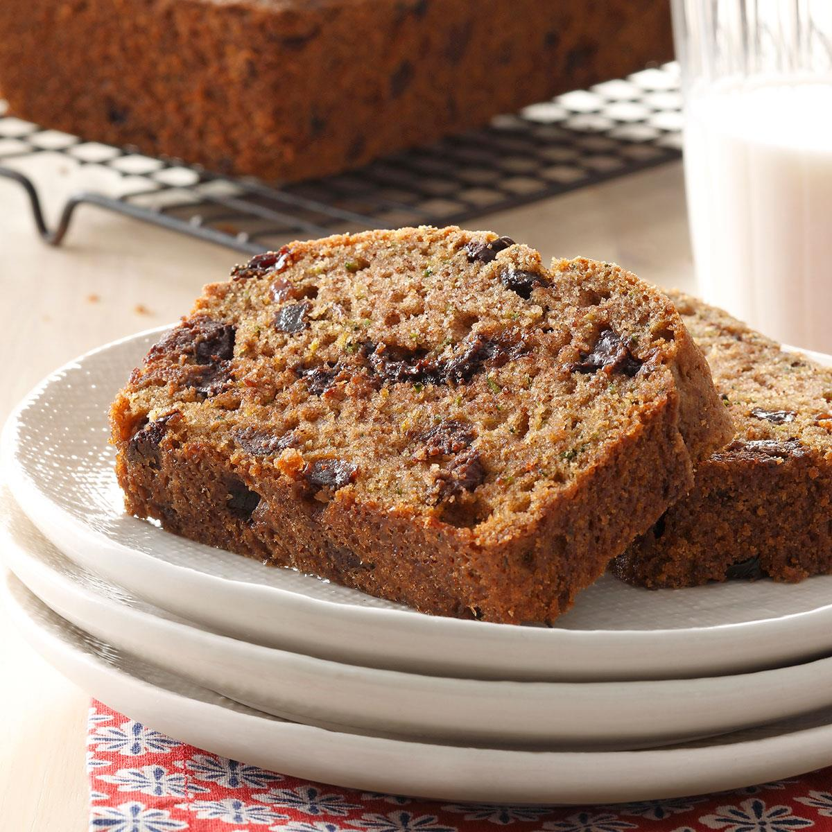Zucchini Chip Loaves Recipe How To Make It Taste Of Home