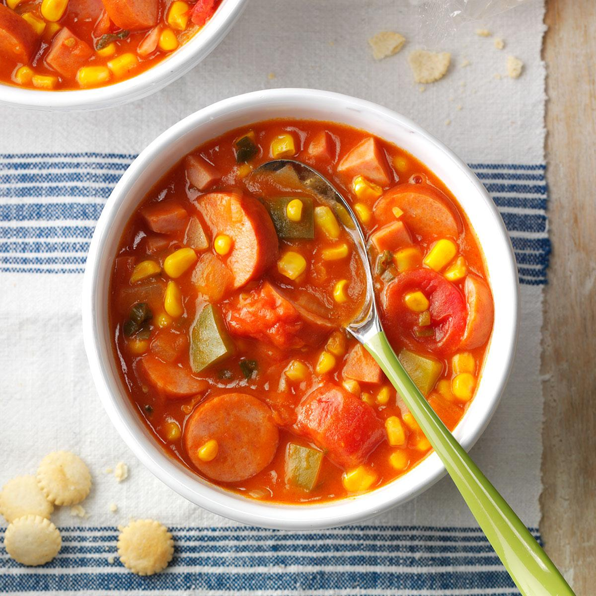 Cajun Corn Soup image