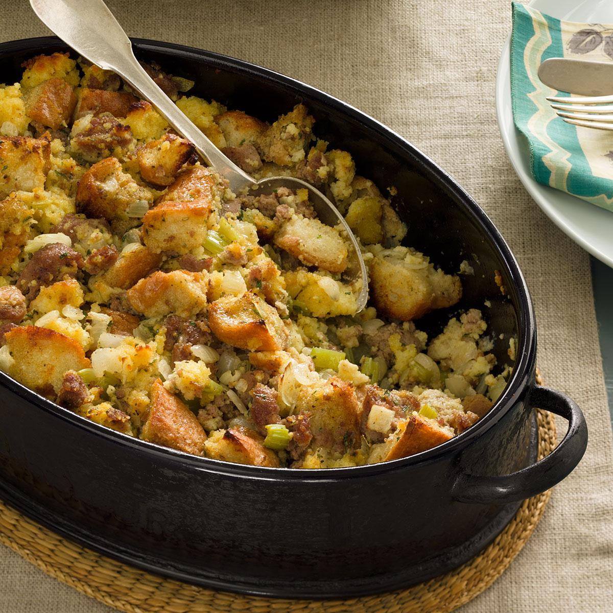 Sausage and Cornbread Dressing image