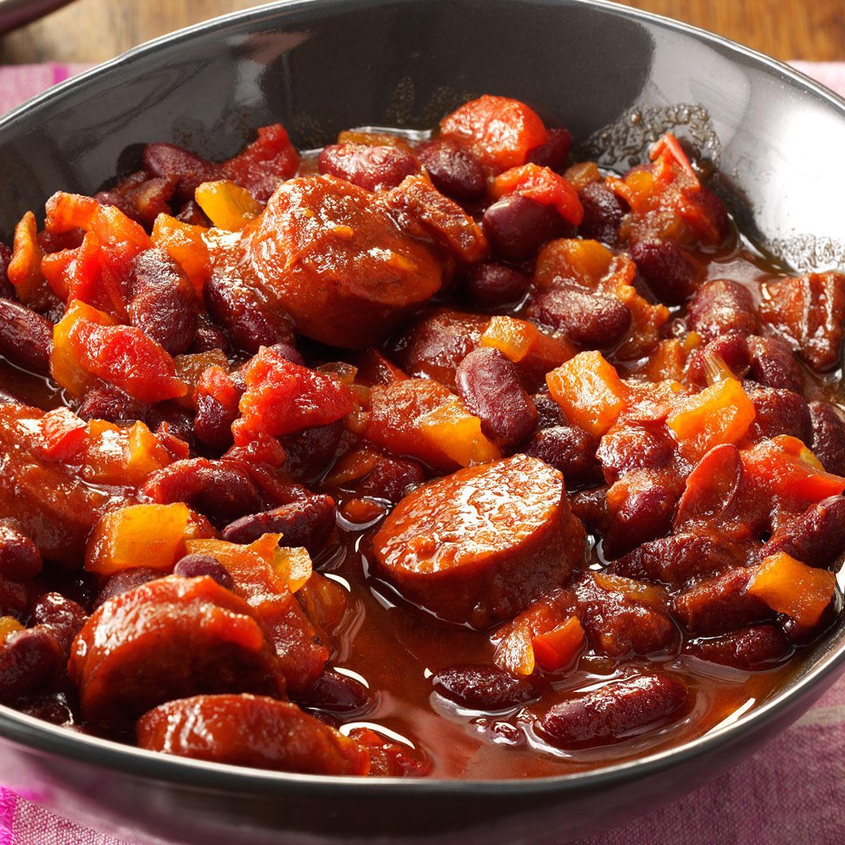 Slow Simmered Kidney Beans Recipe Taste Of Home