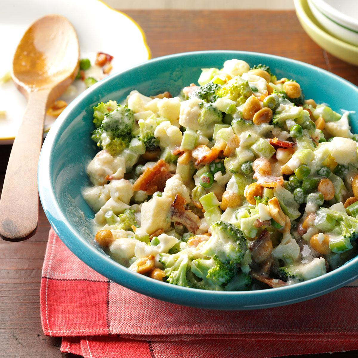 Veggie Chopped Salad Recipe Taste Of Home