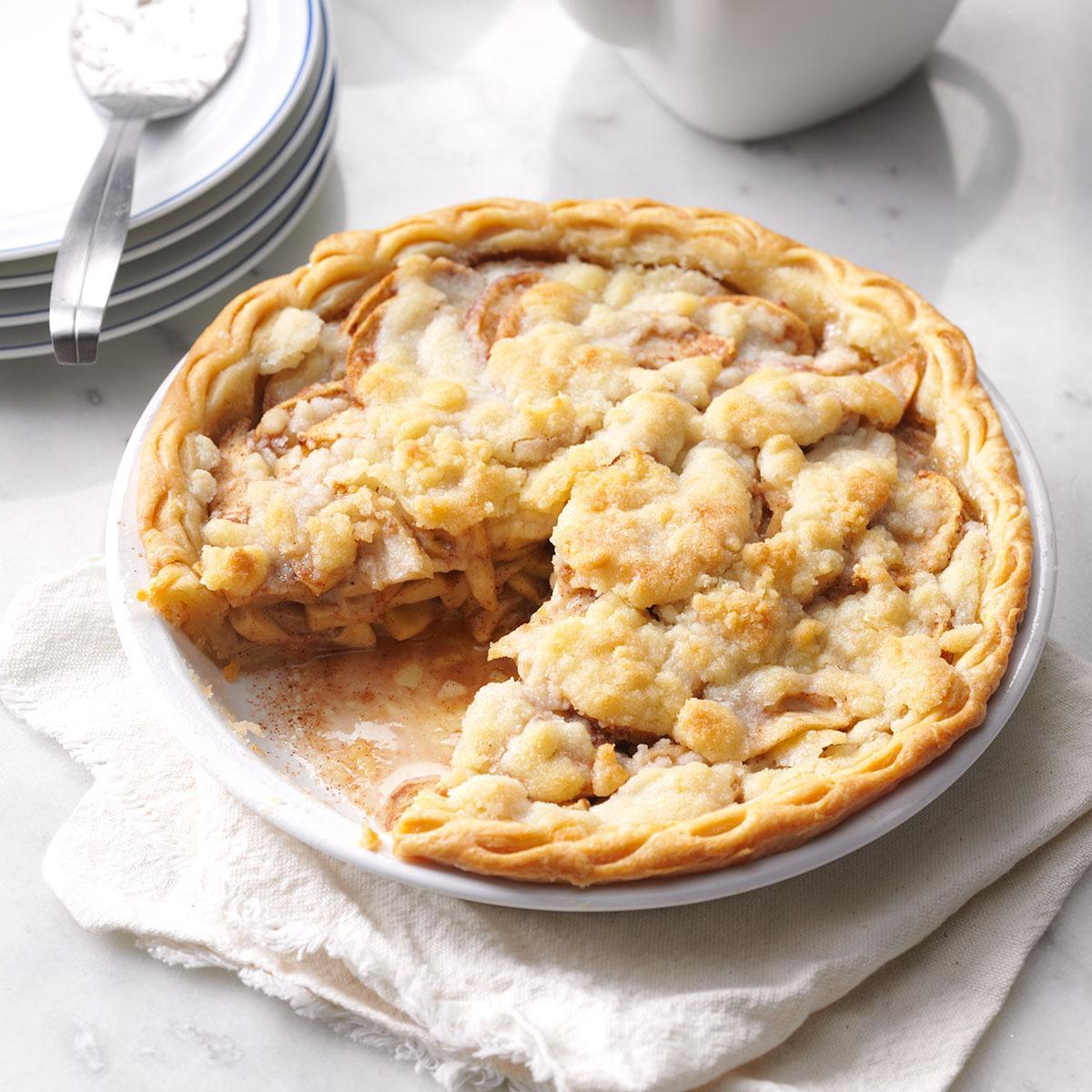 Apple Crumble Pie_image
