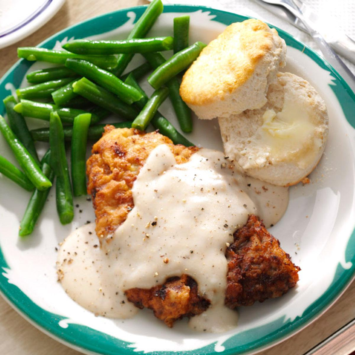 Chicken Fried Steak Gravy Recipe How To Make It Taste Of Home