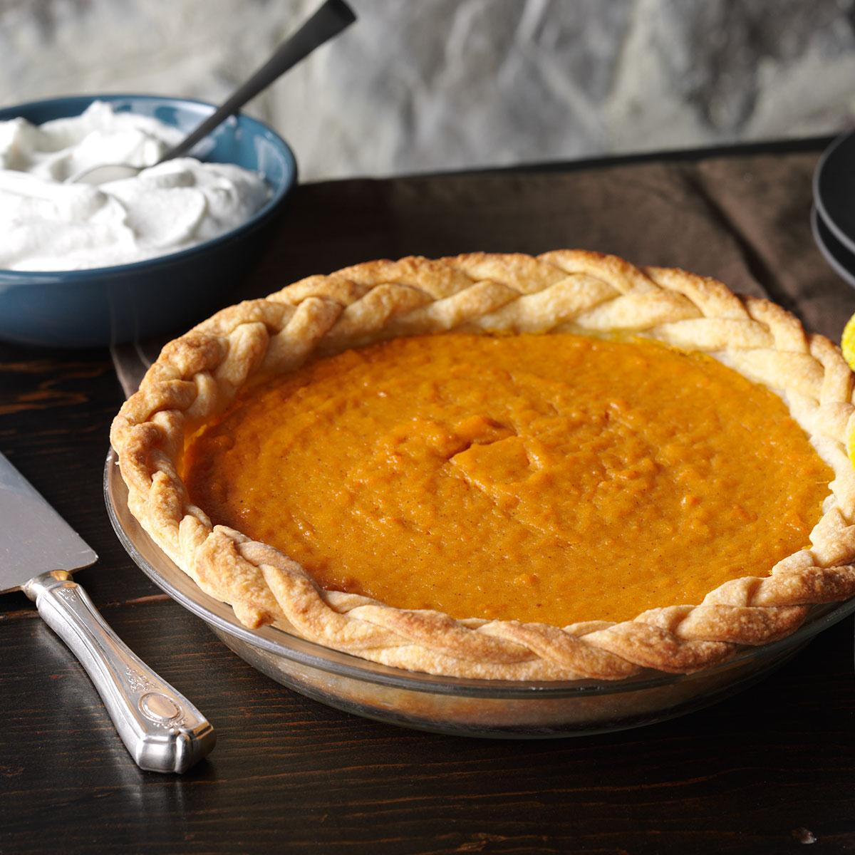 Scrumptious Sweet Potato Pie Recipe How To Make It Taste Of Home