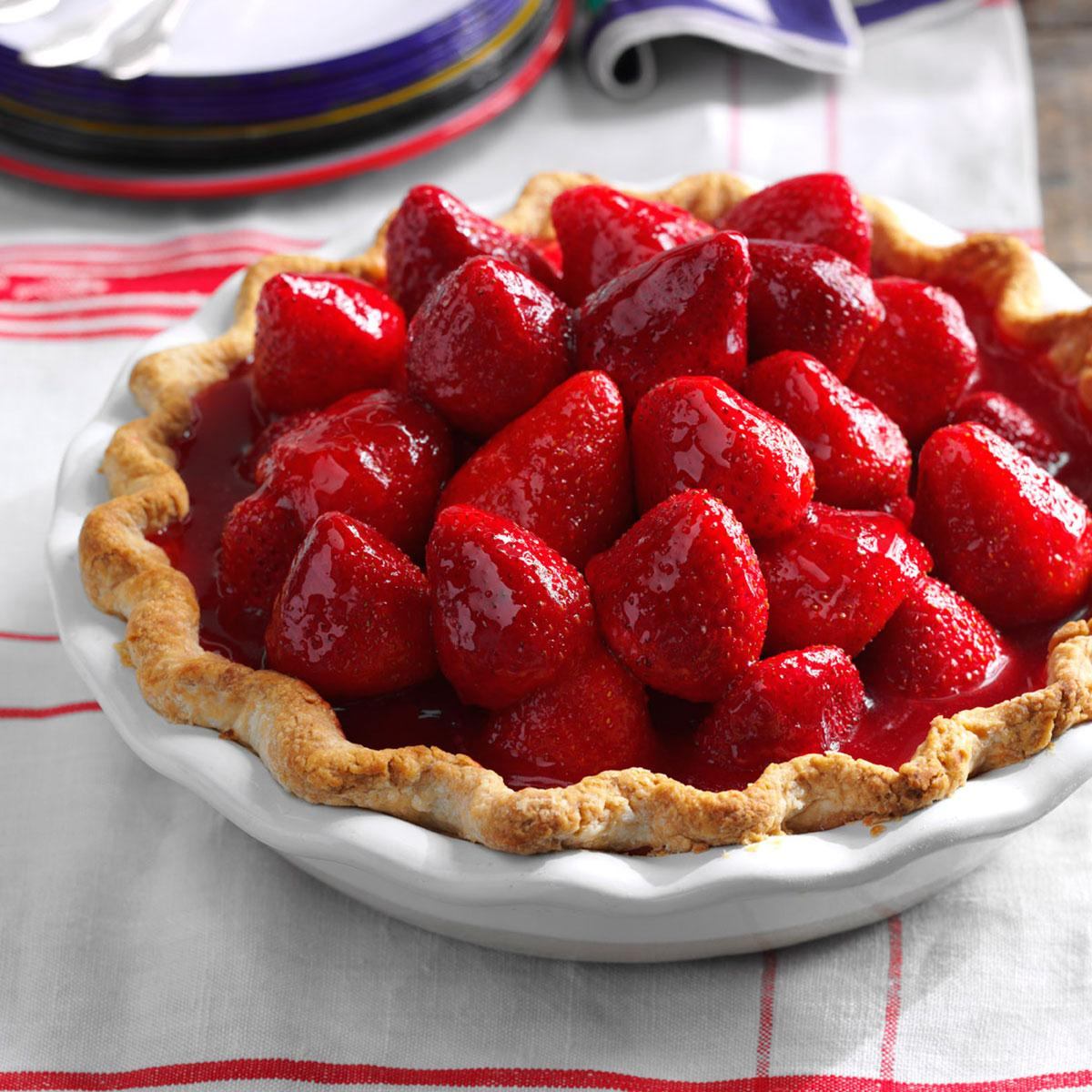 Best Ever Fresh Strawberry Pie Recipe How To Make It Taste Of Home