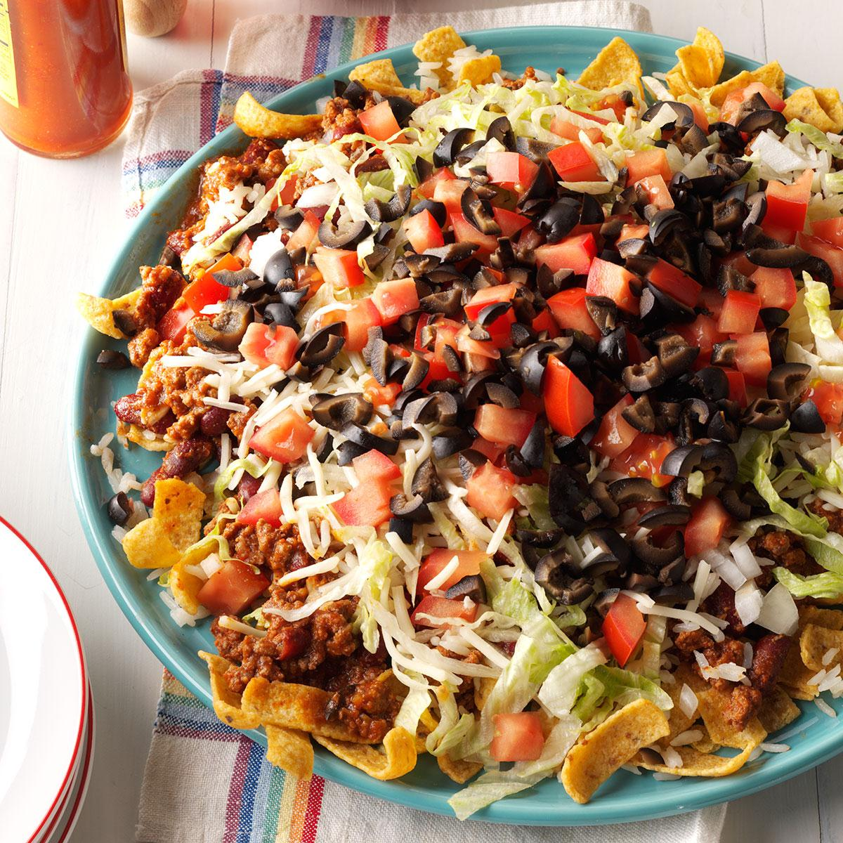 Mexican Fiesta Platter Recipe How To Make It Taste Of Home