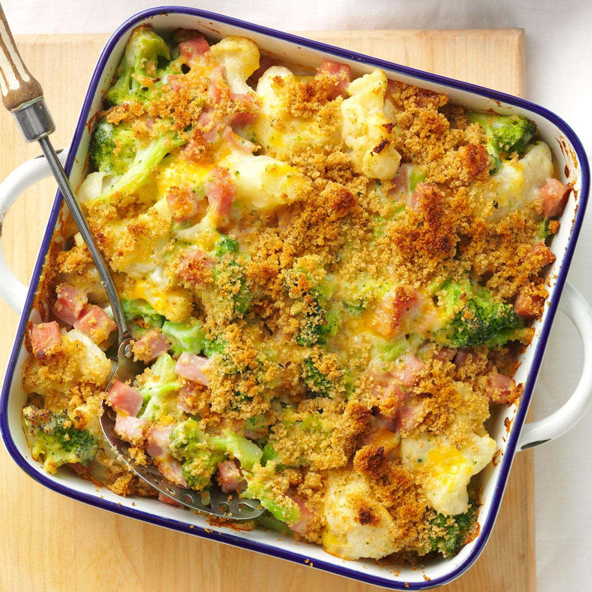 Ham Veggie Casserole Recipe Taste Of Home