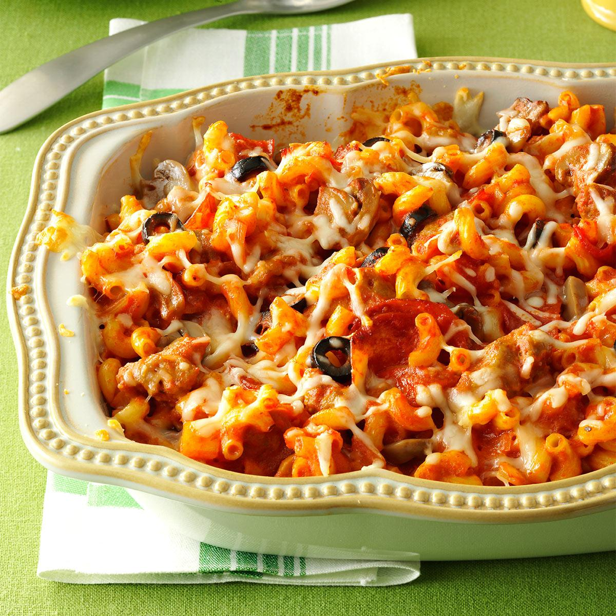 Pepperoni Macaroni Recipe How To Make It Taste Of Home