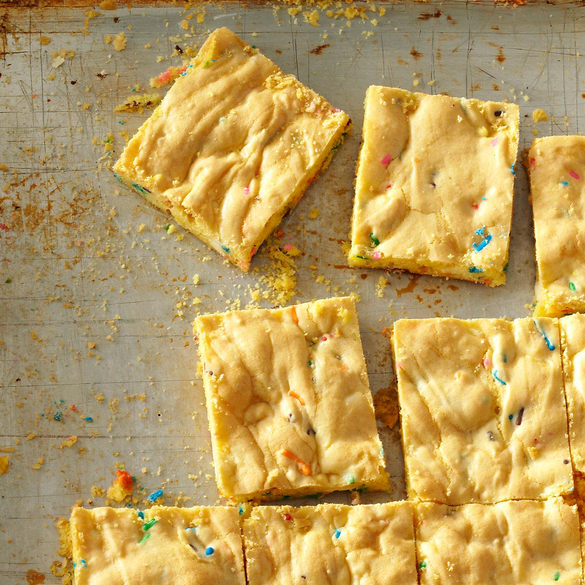 Easy Cake Mix Bars Recipe How To Make It Taste Of Home