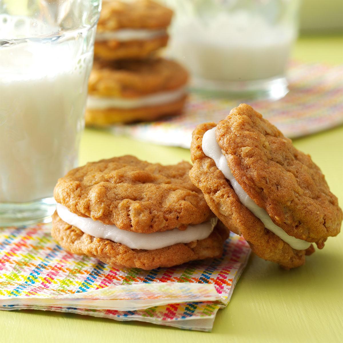 Oatmeal Sandwich Cookies image
