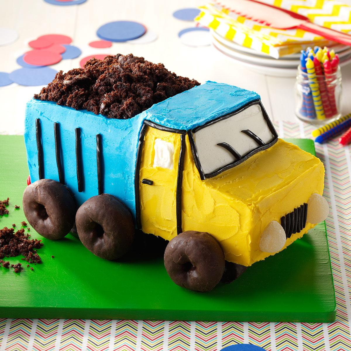 Dump Truck Cake Recipe How To Make It Taste Of Home