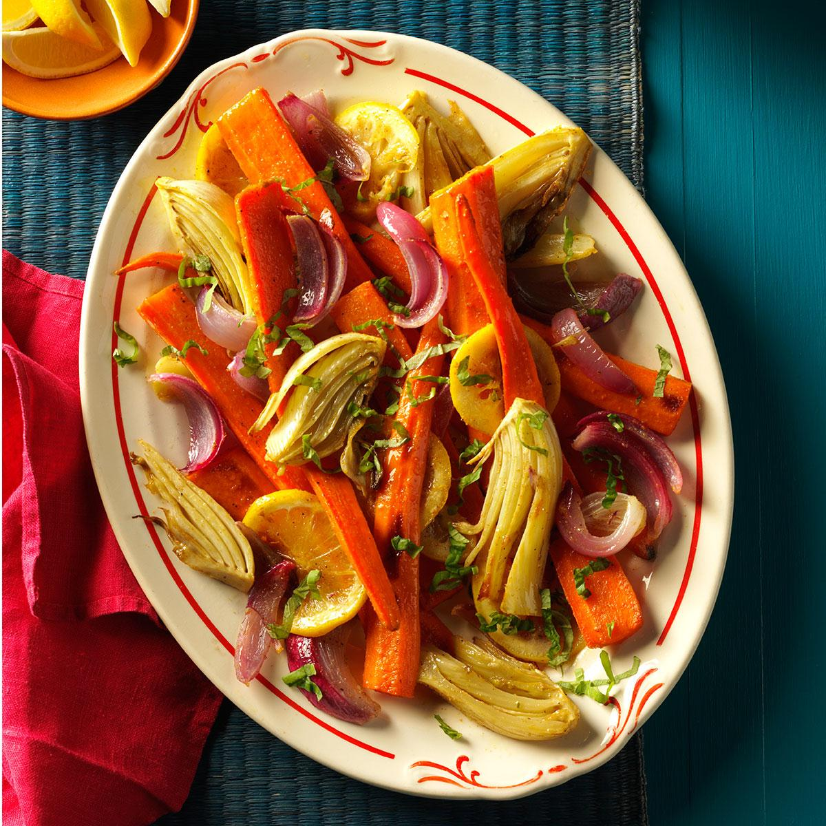 Roasted Carrots & Fennel image
