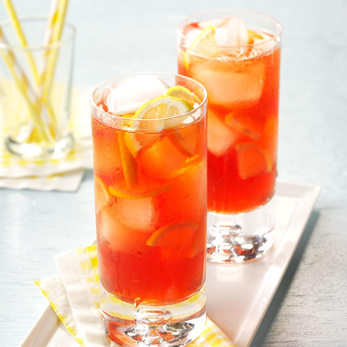 Raspberry Iced Tea Recipe How To Make It Taste Of Home