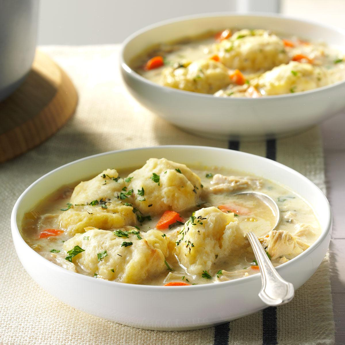 The Best Chicken & Dumplings image