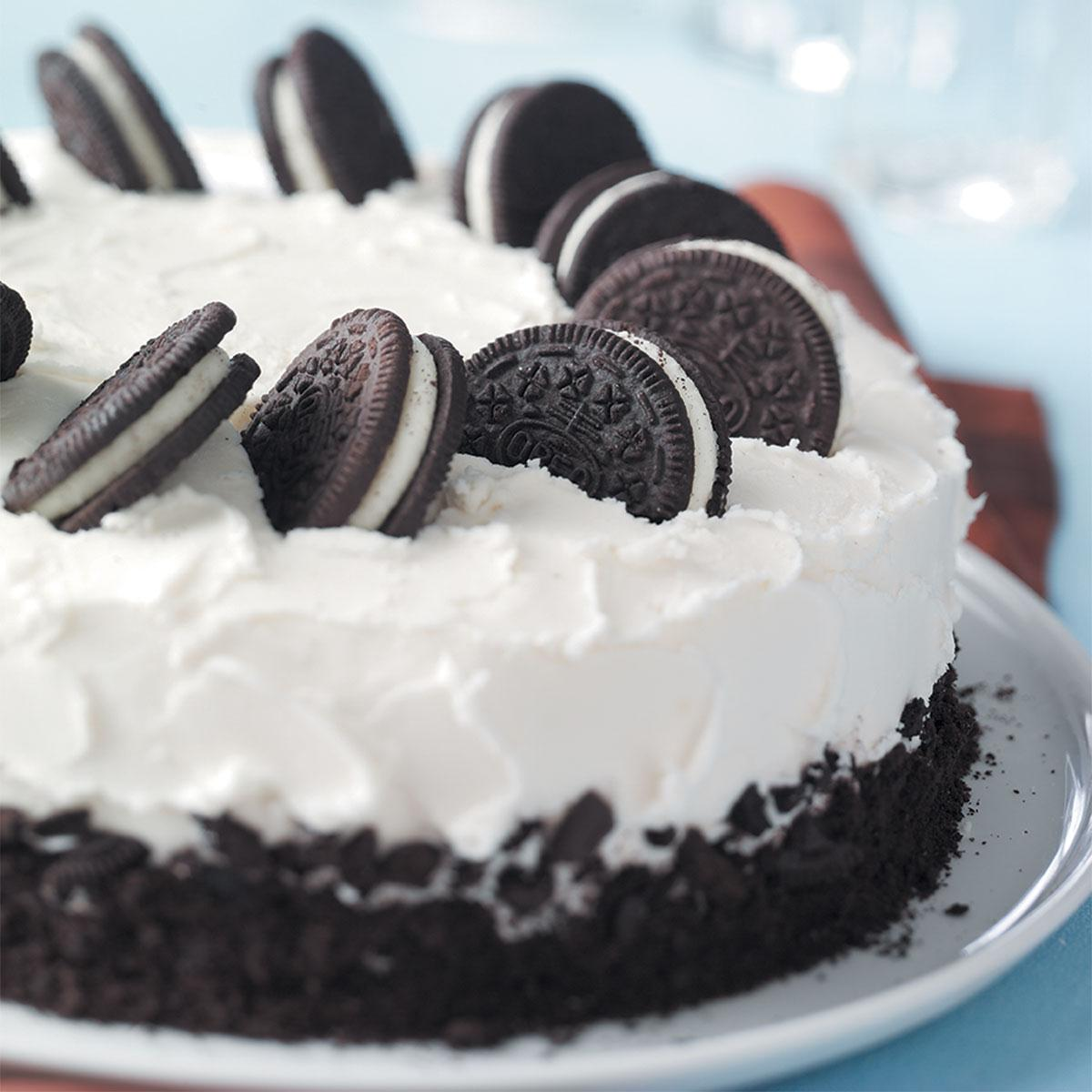 Cookies And Cream Cake Recipe How To Make It Taste Of Home