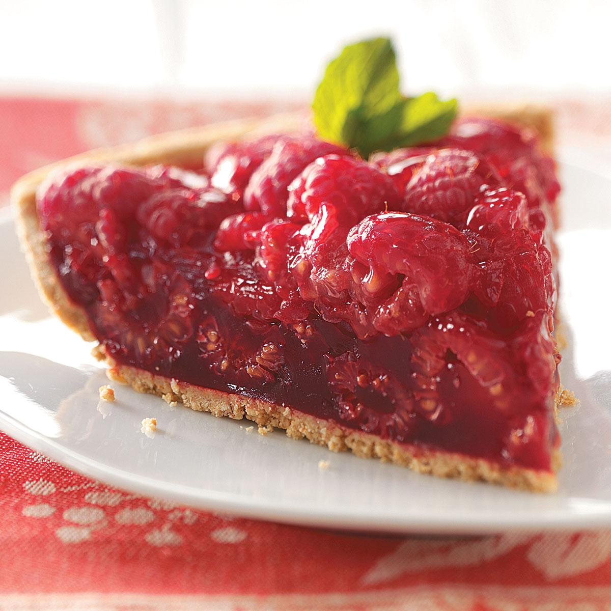 Fresh Raspberry Pie Recipe | Taste of Home