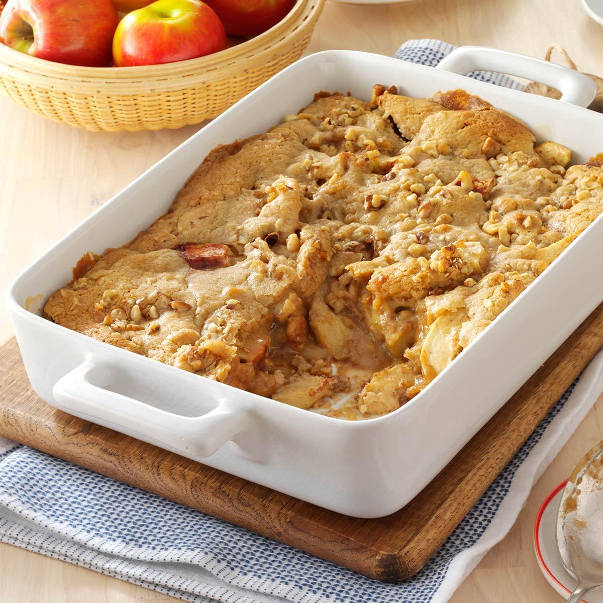 Walnut Apple Dessert Recipe Taste Of Home