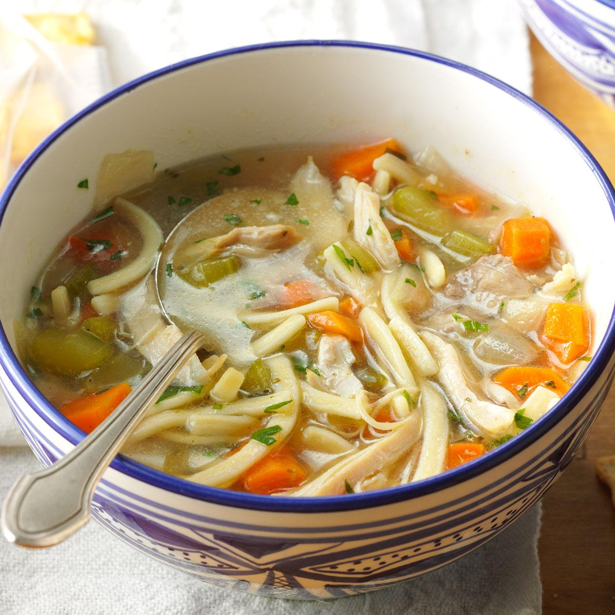 The Ultimate Chicken Noodle Soup Recipe How To Make It Taste Of Home