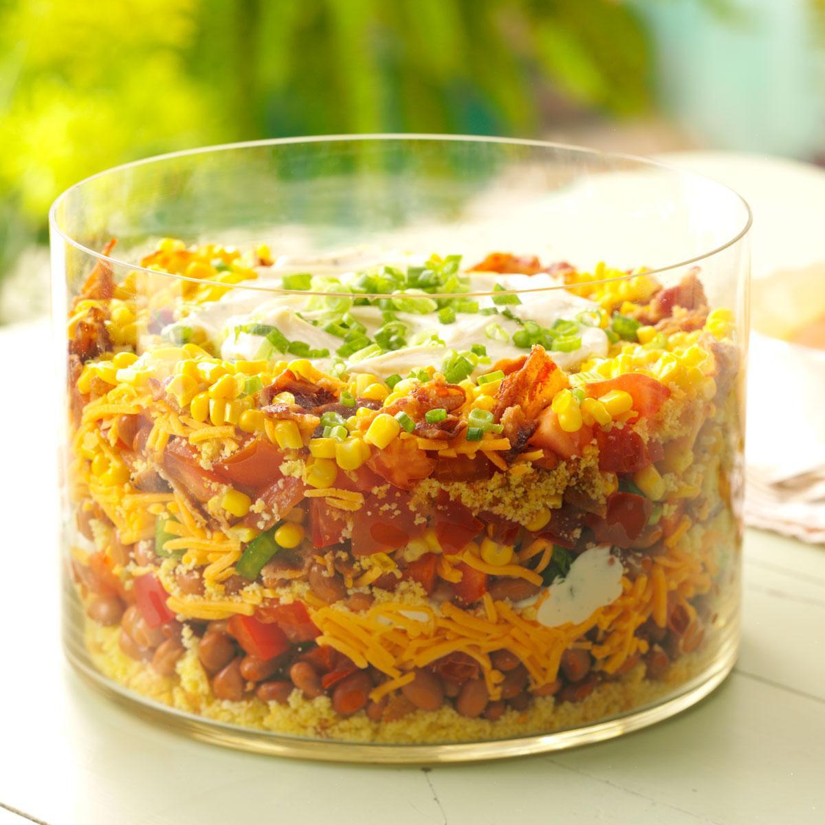 Southern Cornbread Salad_image