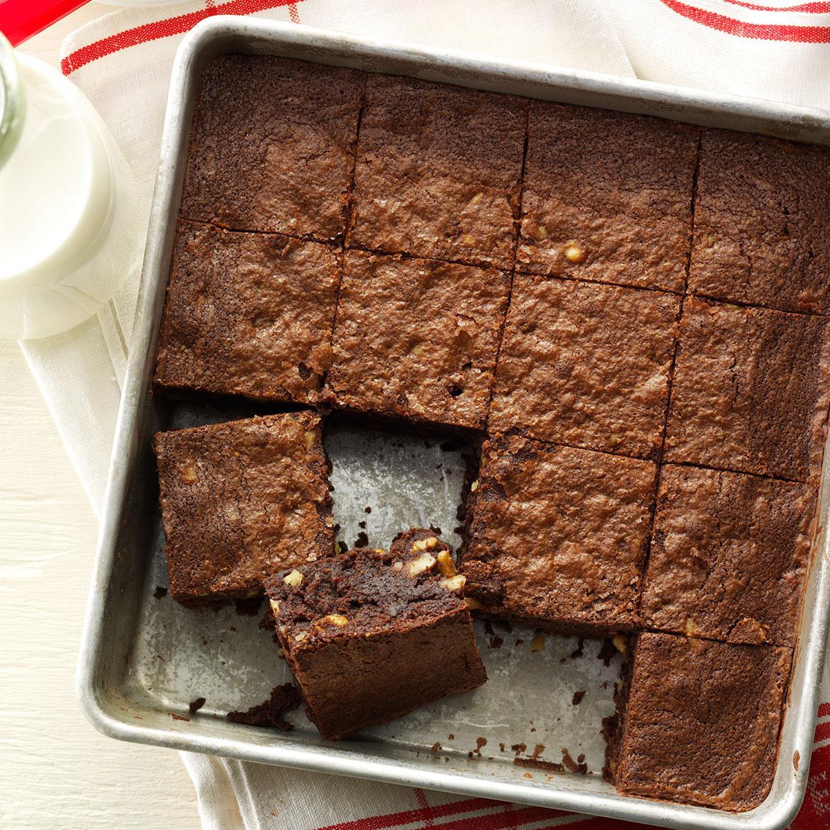 Chocolate Fudge Brownies Recipe How To Make It Taste Of Home