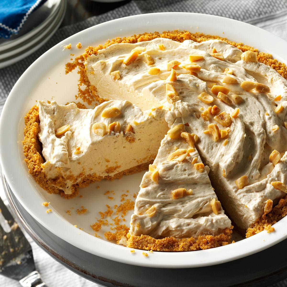 Peanut Butter Cream Pie Recipe How To Make It Taste Of Home