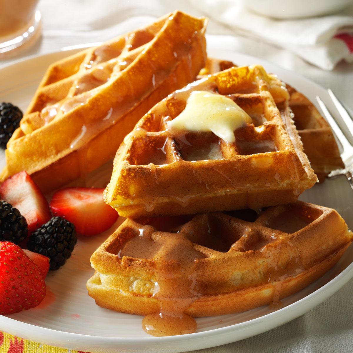 Fluffy Waffles image