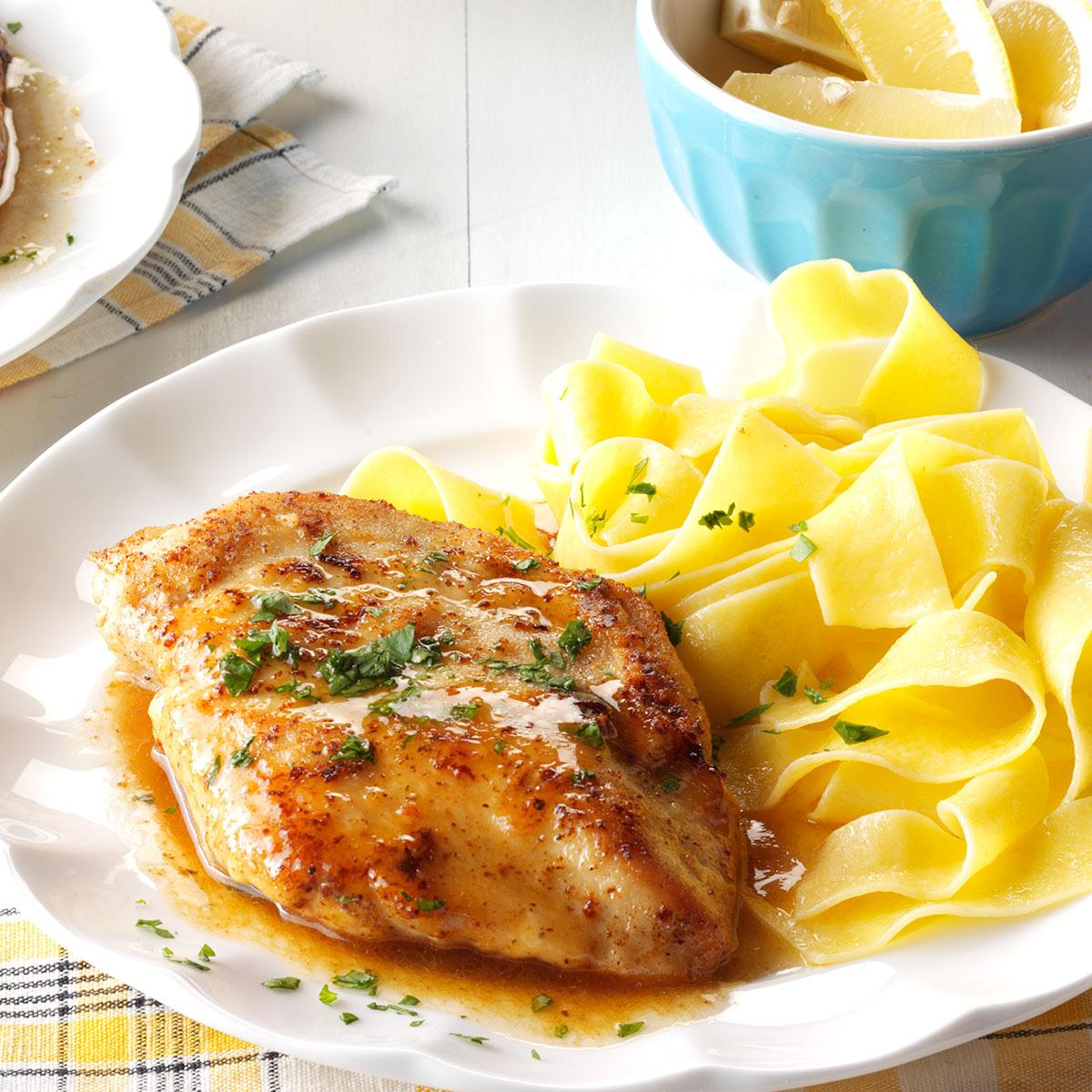 Quick Chicken Piccata Recipe How To Make It Taste Of Home