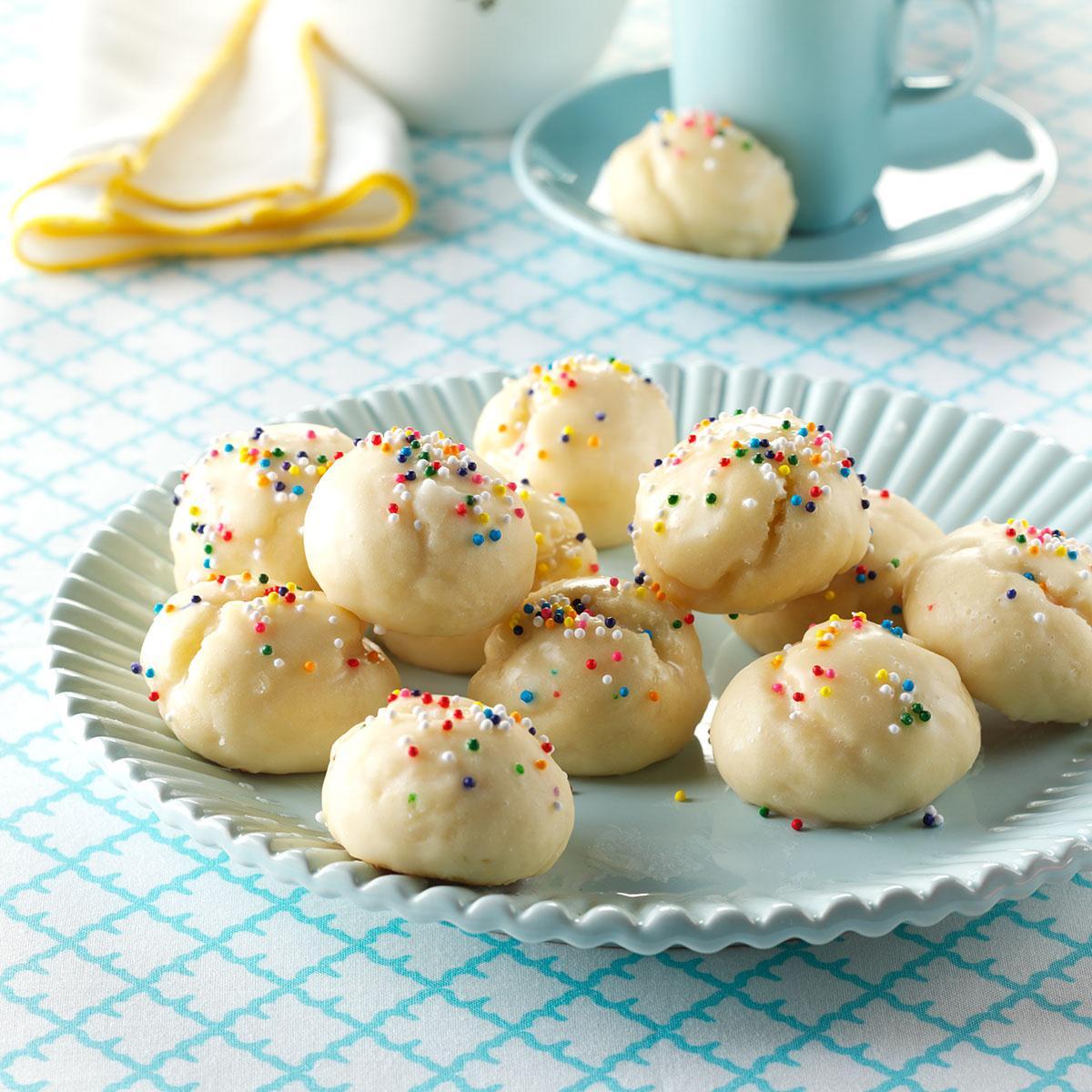 Italian Sprinkle Cookies Recipe How To Make It Taste Of Home