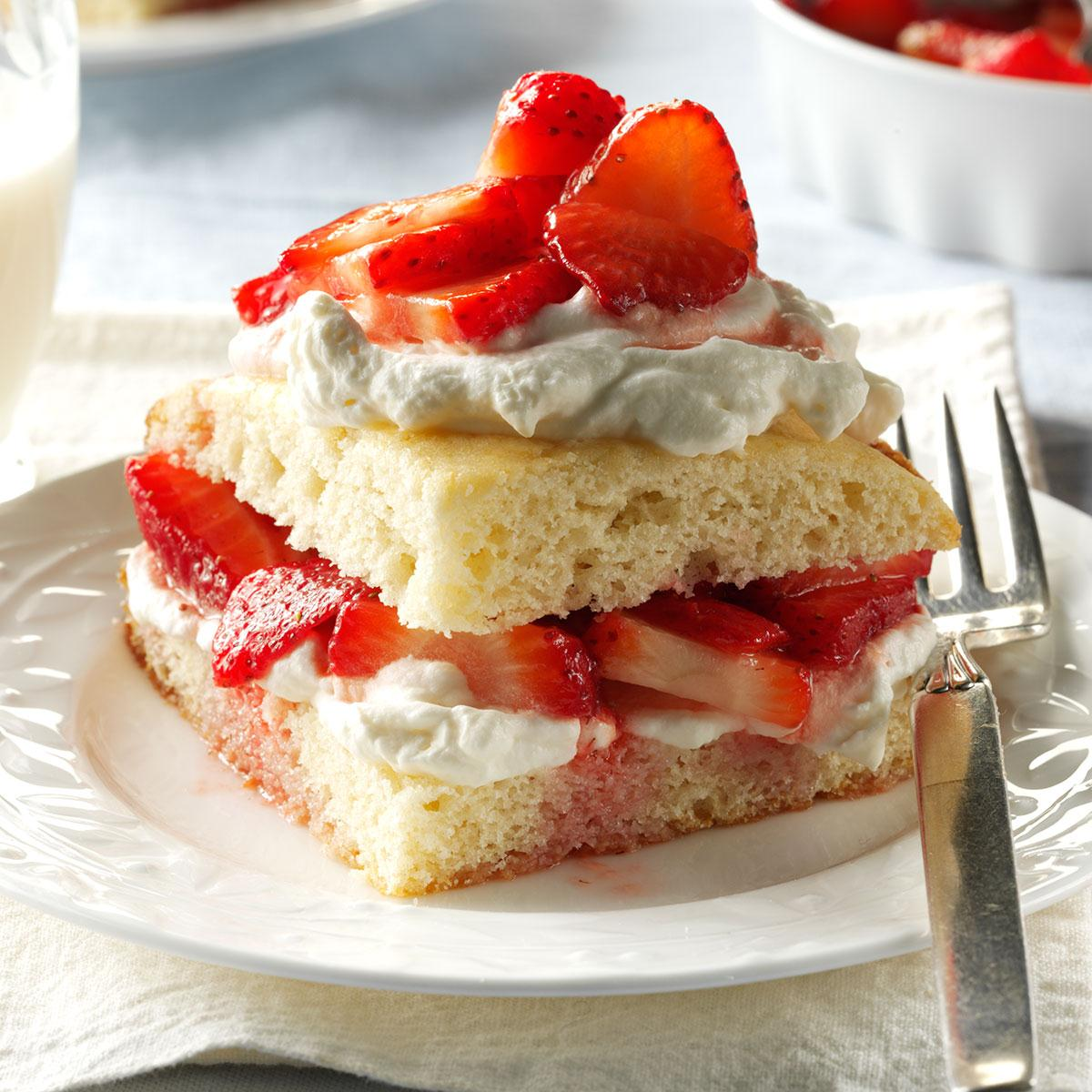 Strawberry Shortcake Recipe How To Make It Taste Of Home