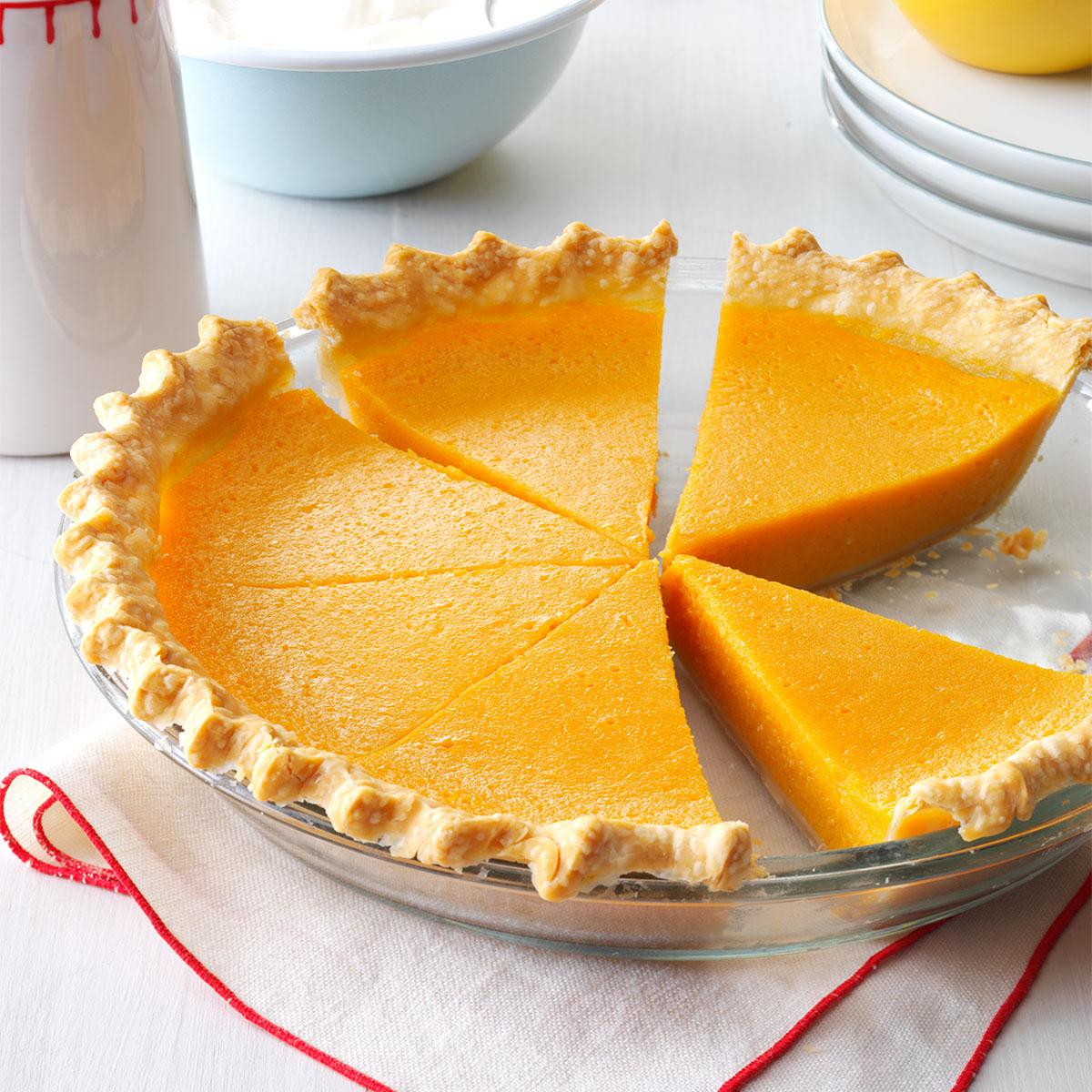 Lemony Sweet Potato Pie Recipe How To Make It Taste Of Home