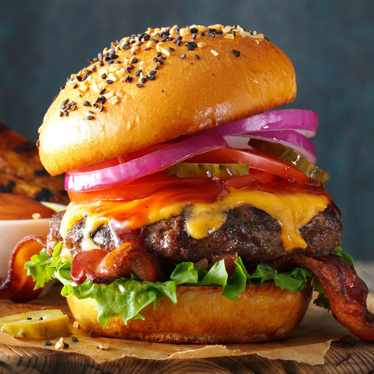 Barbecued Burgers image