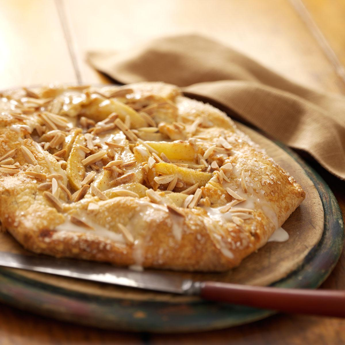 Pear Almond Tart image