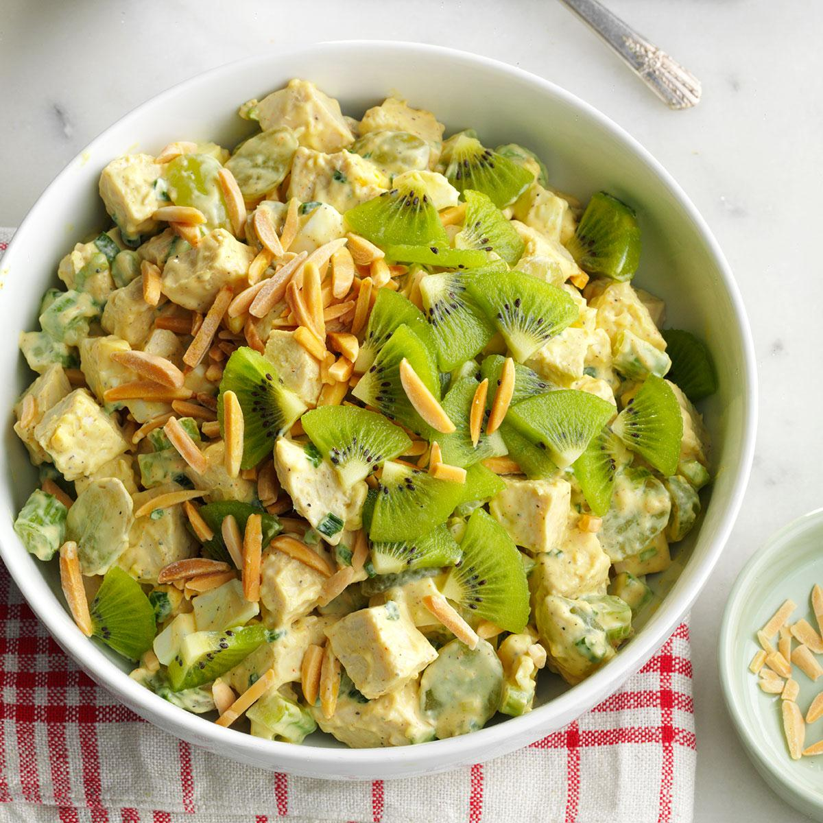 Almond Chicken Salad Recipe How To Make It Taste Of Home