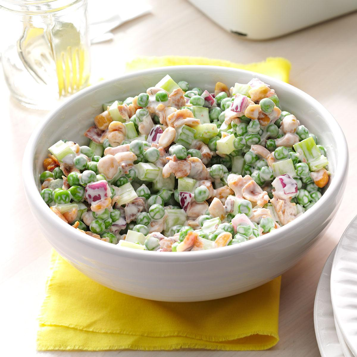 Pea Salad Recipe With Nuts
