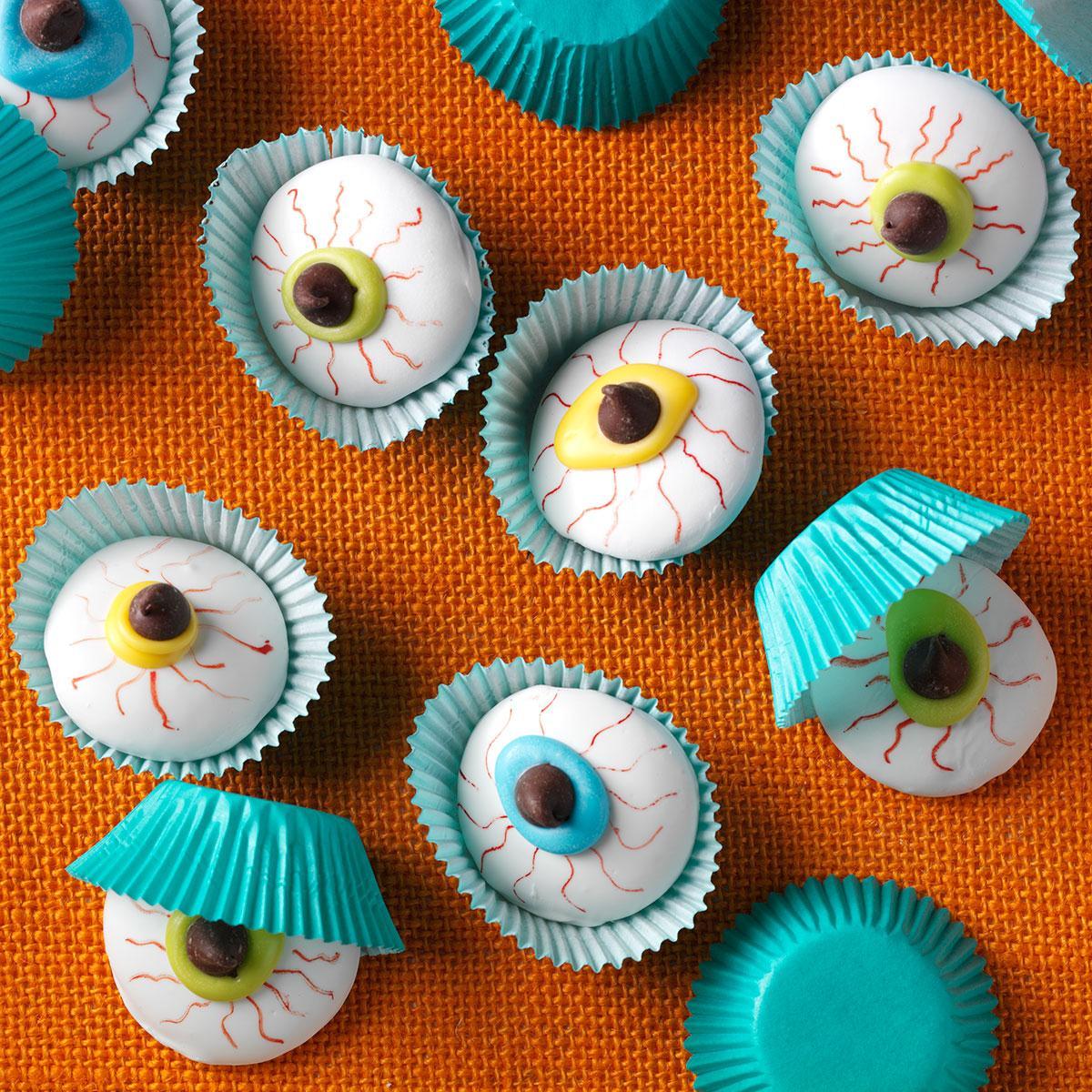 Eyeball Cookies