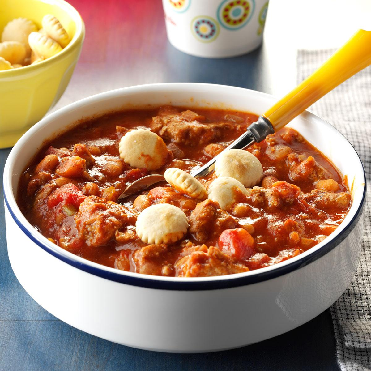 Kids Favorite Chili Recipe How To Make It Taste Of Home