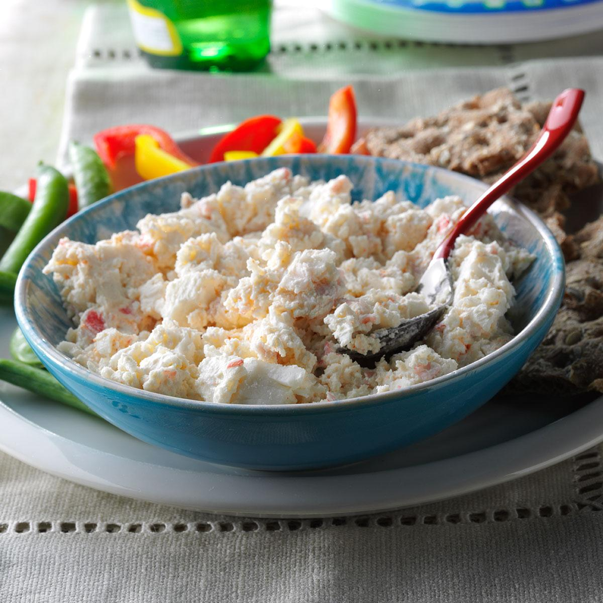 Spicy Crab Dip Recipe How To Make It Taste Of Home