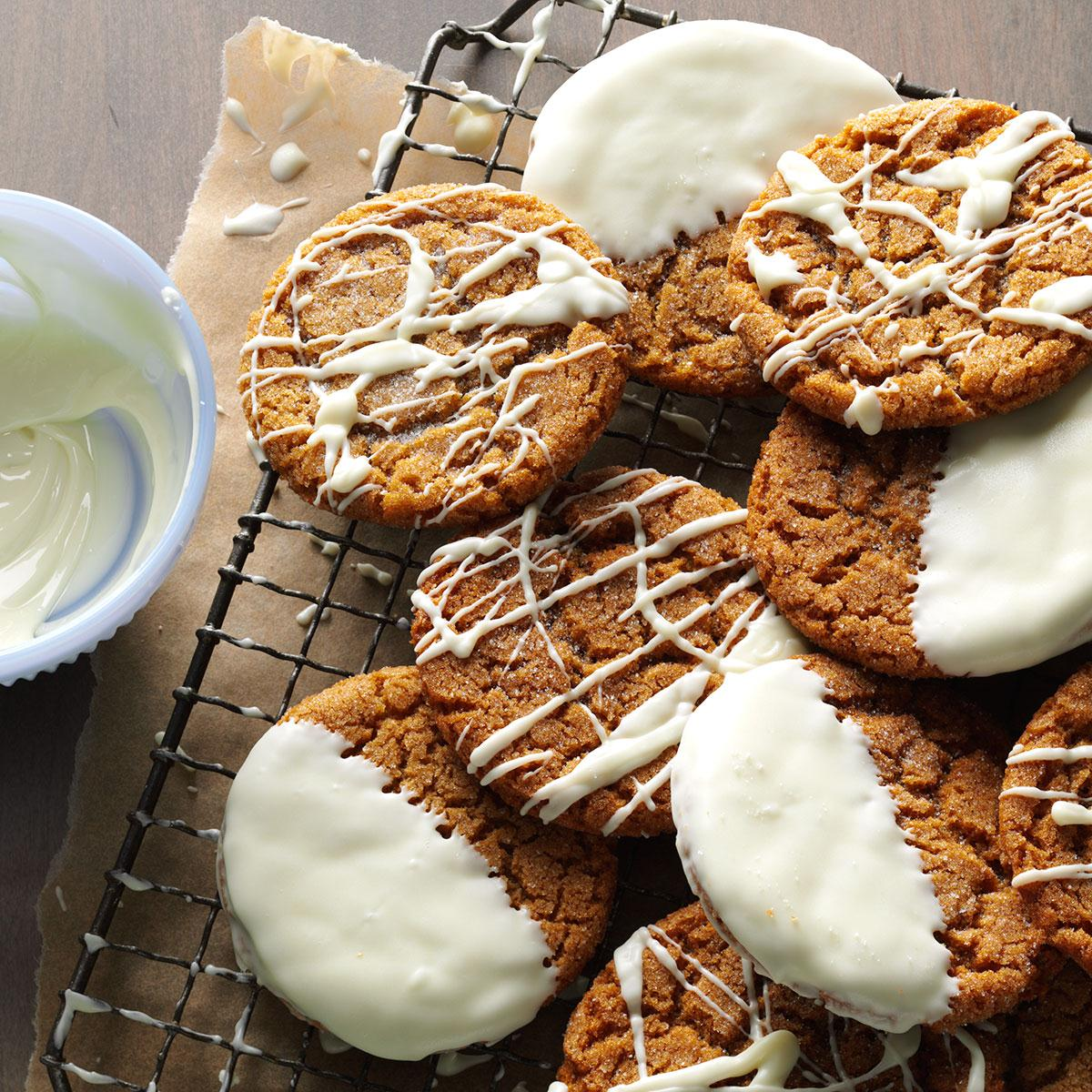 Dipped Gingersnaps image
