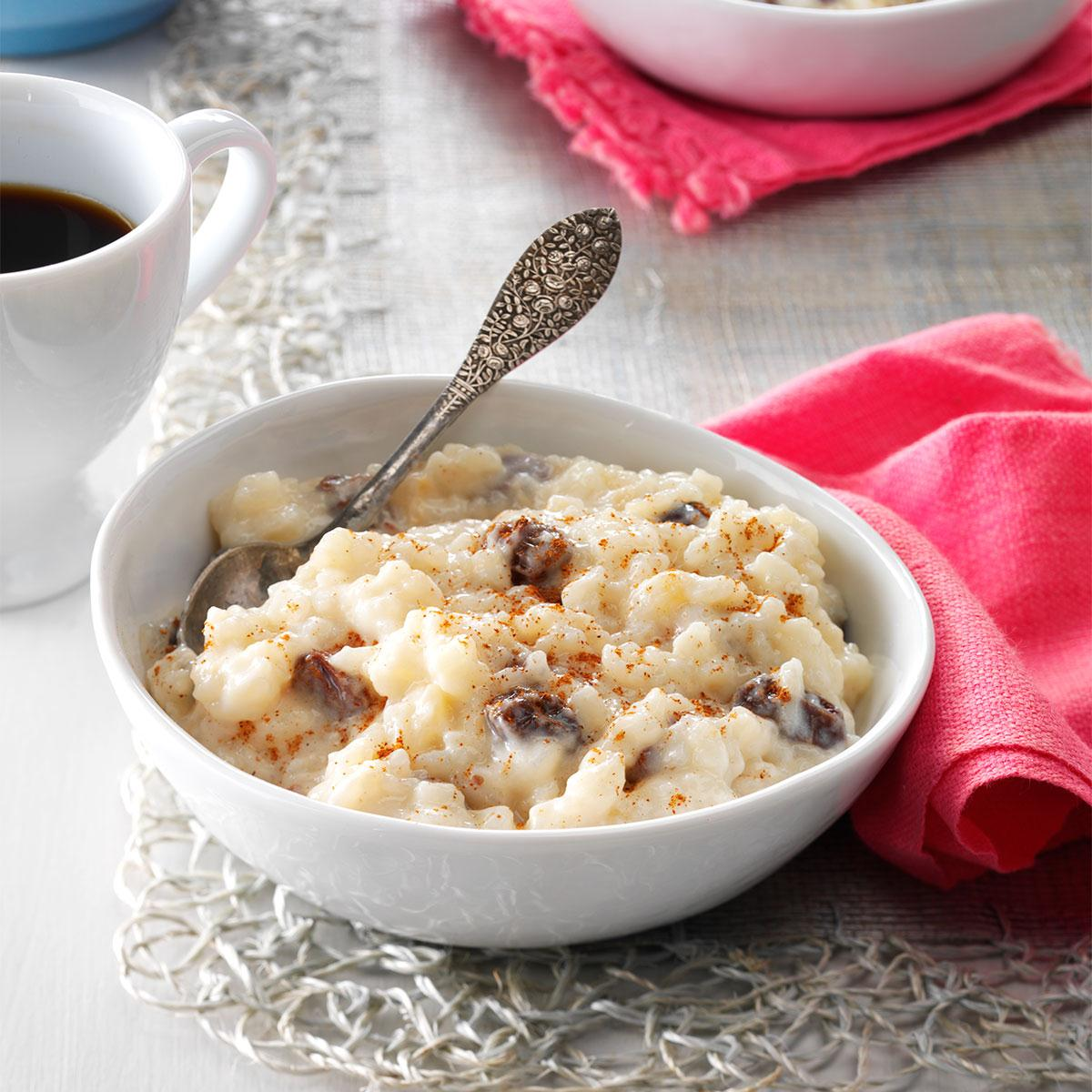 Old-Fashioned Rice Pudding image