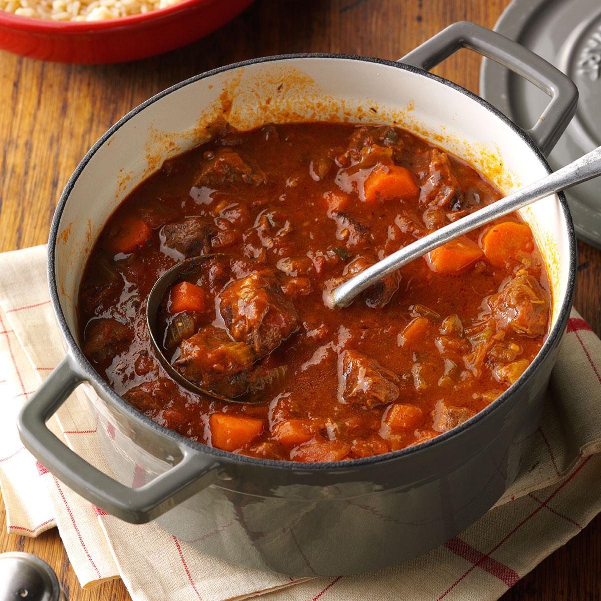 Jamaican Style Beef Stew Recipe Taste Of Home