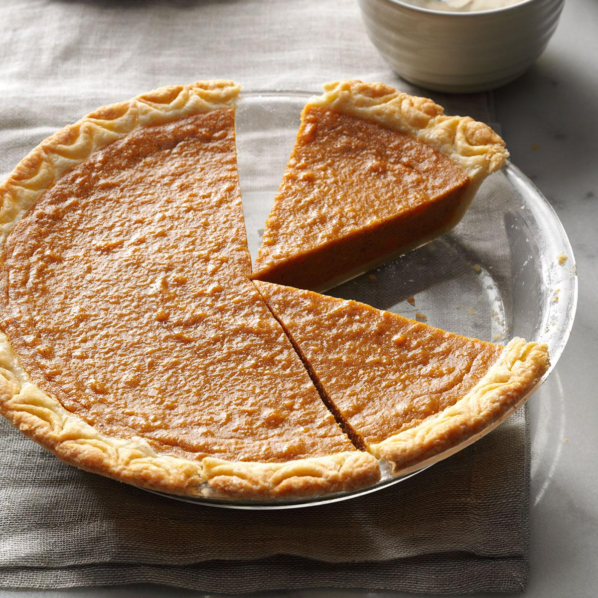 Harvest Sweet Potato Pie Recipe How To Make It Taste Of Home