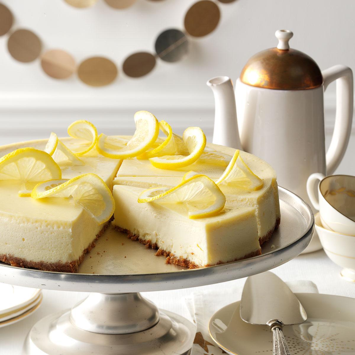 Lovely Lemon Cheesecake image