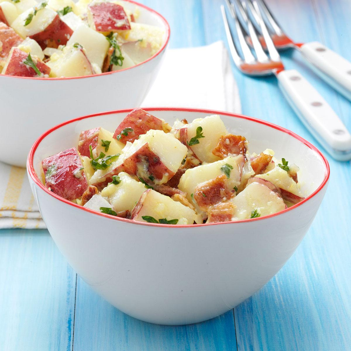 Best Potato Salad Recipe With Bacon