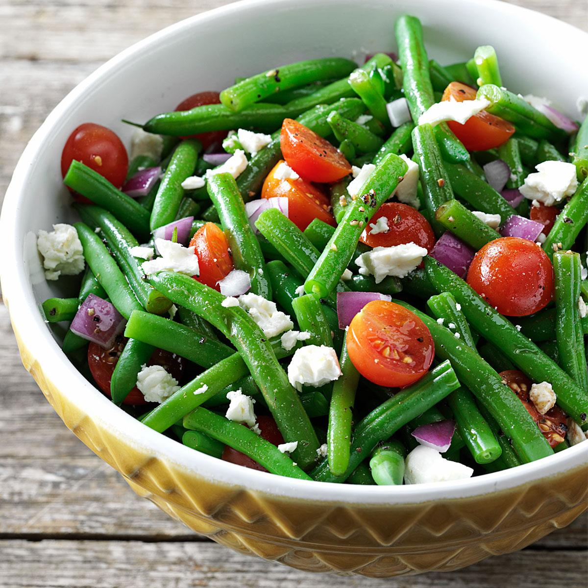 Balsamic Green Bean Salad Recipe How To Make It Taste Of Home