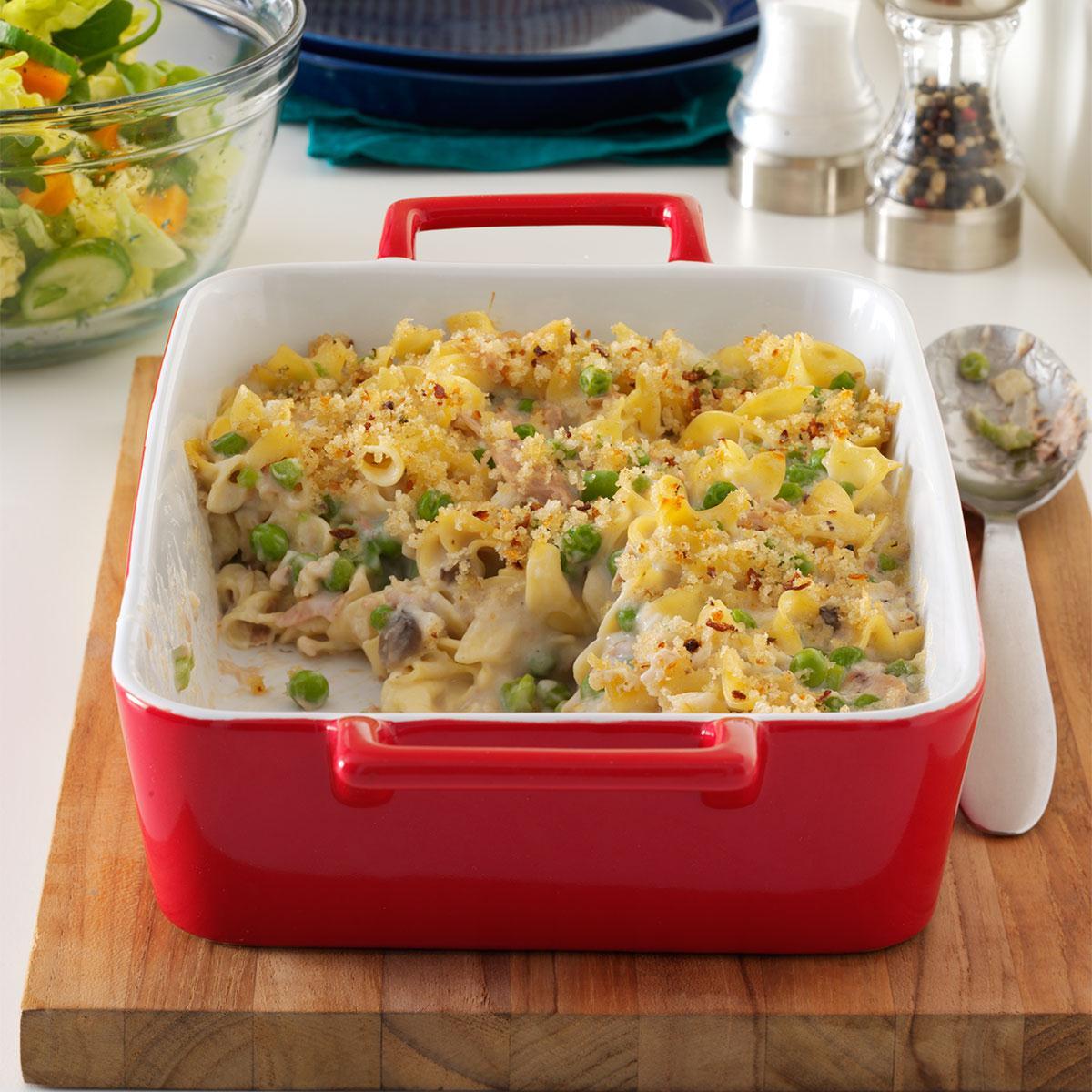 Creamy Tuna Noodle Casserole Recipe How To Make It Taste Of Home