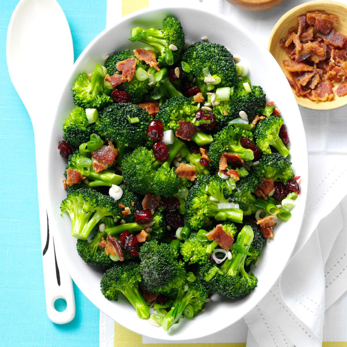 Crunchy Broccoli Salad Recipe How To Make It Taste Of Home